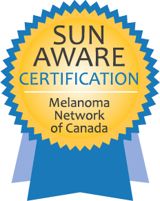 Sun Aware Certification Logo